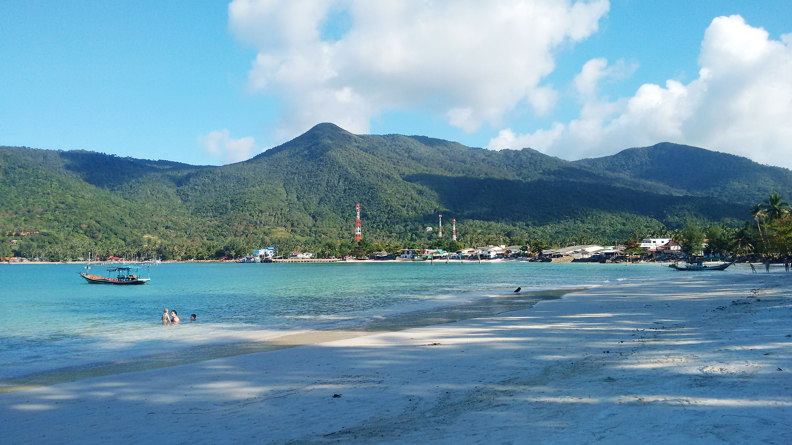 playas kho phangan - malibu beach