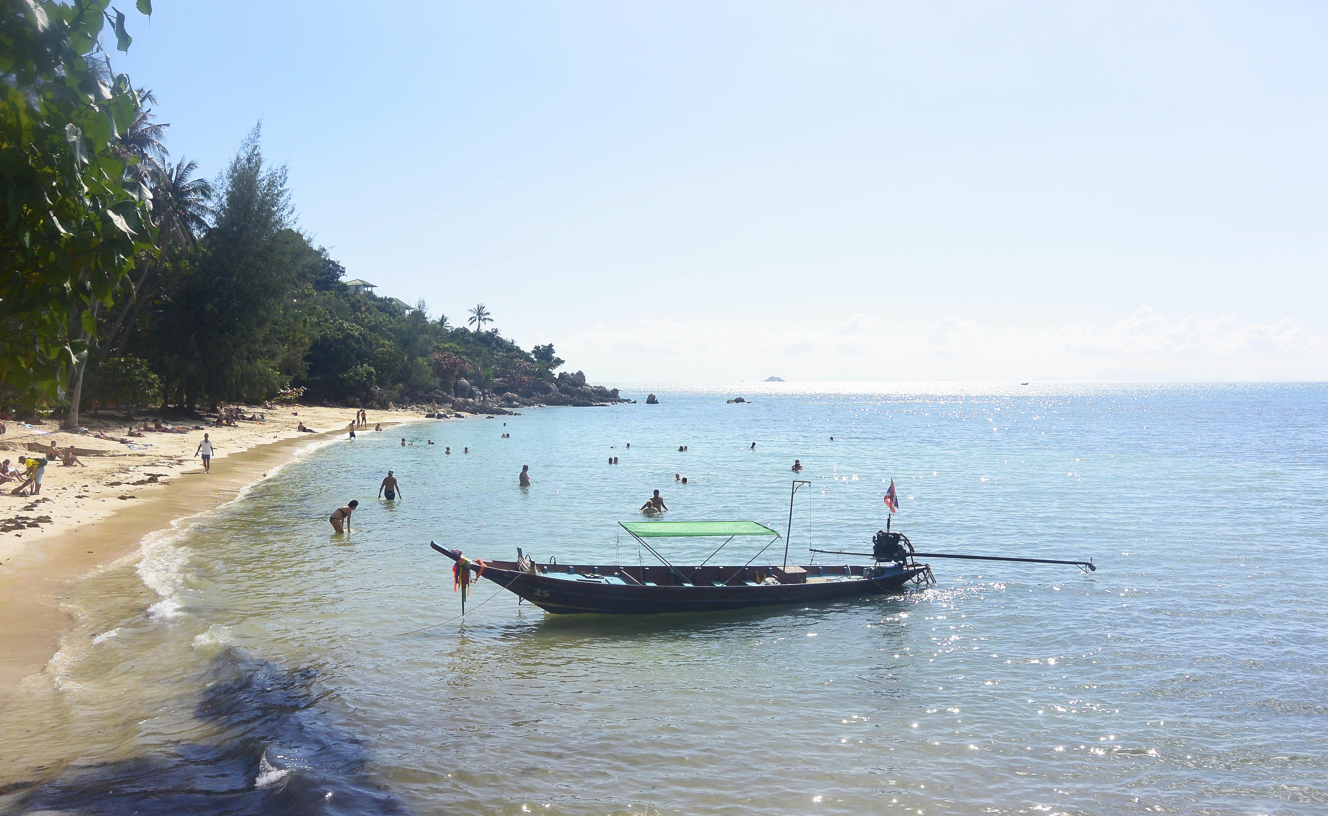 playas kho phangan - secret beach