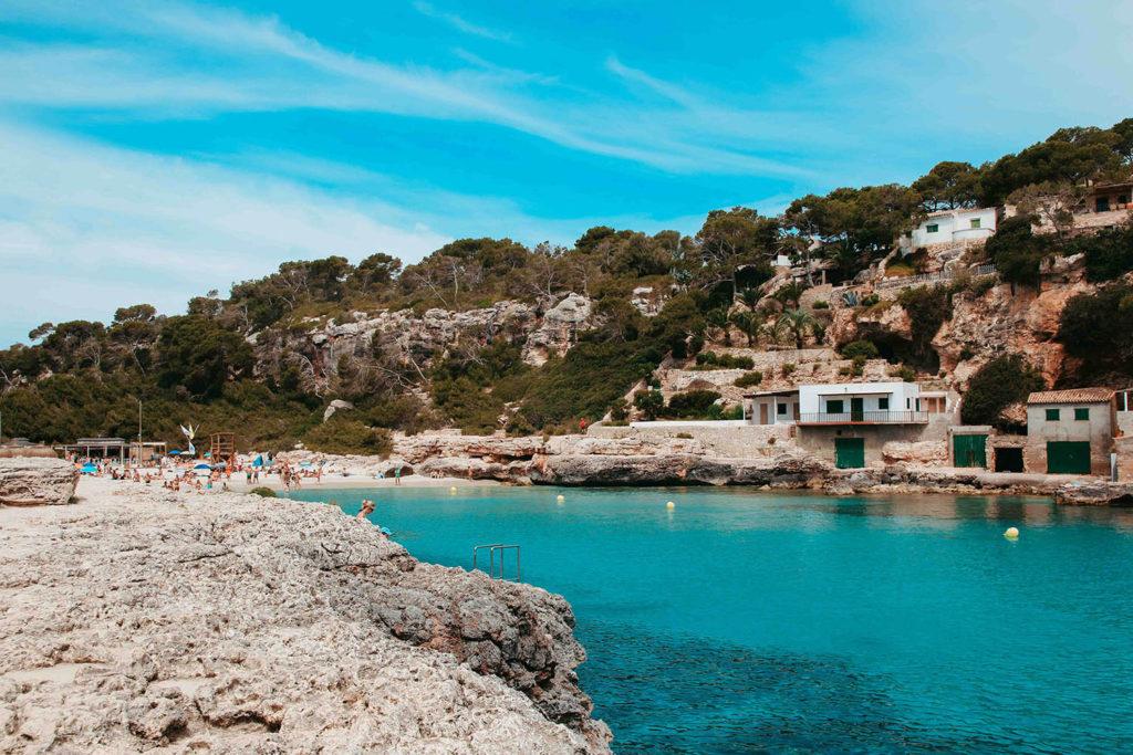 beach Mallorca cala llombards