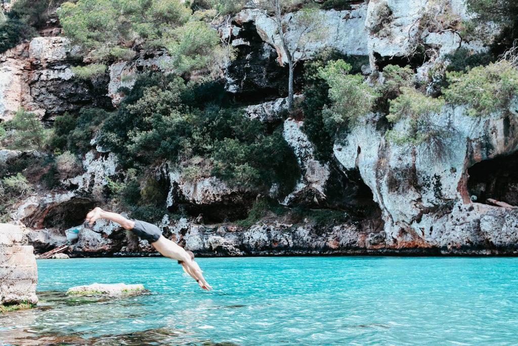 beach Mallorca cala pi