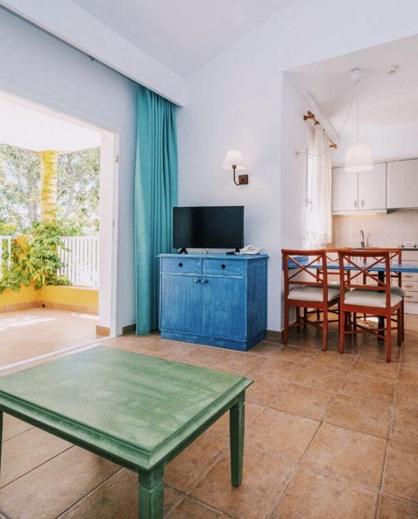 dining room apartaments isla del aire