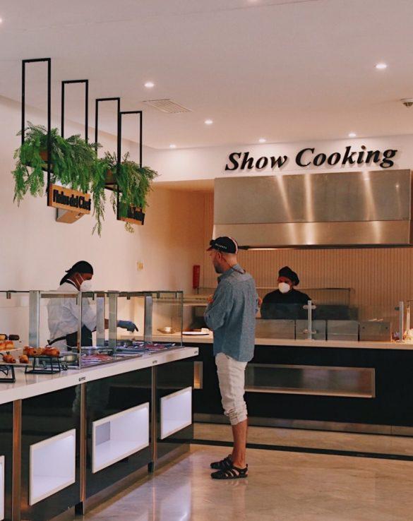 show cooking restaurant floramar