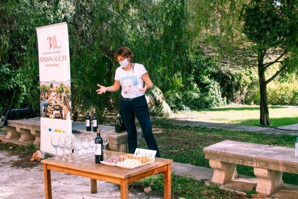 wine tasting lloseta